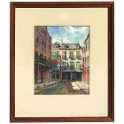 Stuart Archibald 20th century listed artist New Orleans Louisiana art original watercolor painting