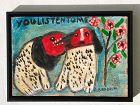 Aaron Birnbaum (1895 - 1998) American Ukrainian Artist Folk Art