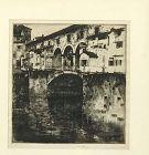 Ernest David Roth (1879 - 1964) German - American Ponte Vecchio