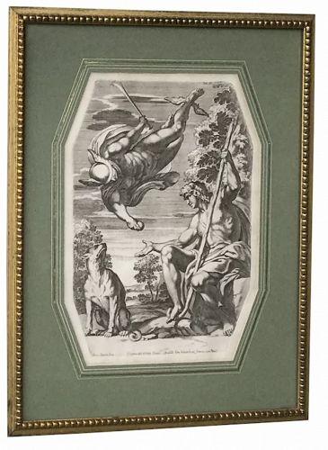 Carlo CESIO (1626-1686), Mercury brings Paris