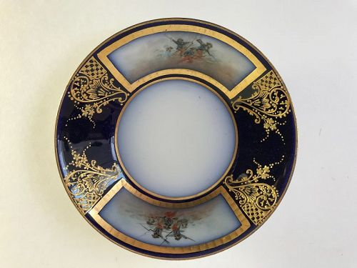 Serves France Porcelain Military Battles Napoleonic Era Plate