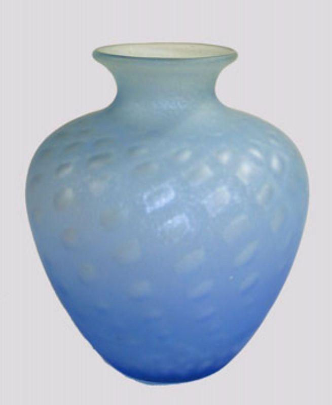 Steuben Silverina Vase