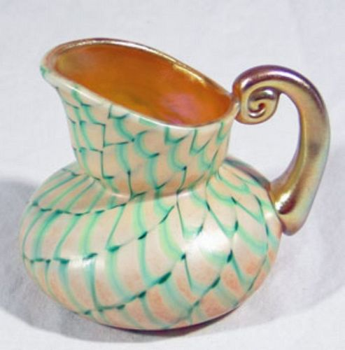 Art Glass Pitcher (Kew Blas)