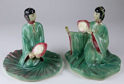 Chinese Princess Pair, Barbara Loveday