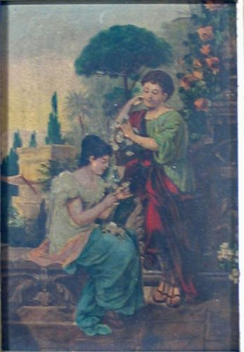 Classical Courting Scene