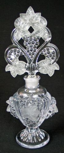 Fan Top Perfume Bottle