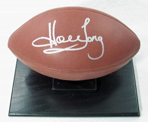 Howie Long Autographed Football Package