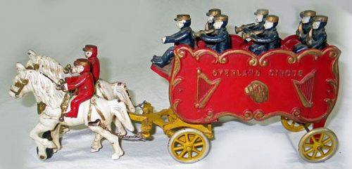 Kenton Overland Circus Band Wagon