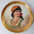 Limoges Portrait Plate - Ruth
