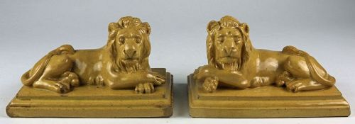 Matched Staffordshire Lions