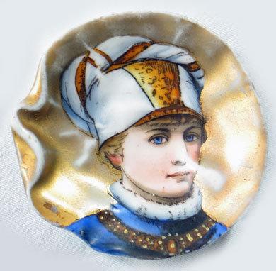 Miniature Portrait Plate