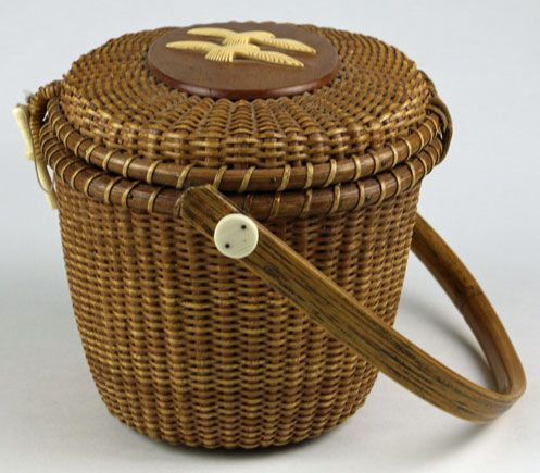 Nantucket Lightship Basket Purse
