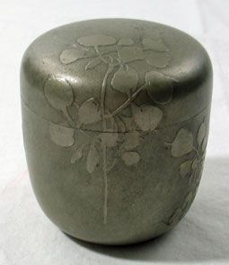 Pewter Covered Jar