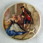 Prattware Ceramic Lid - London Cries - Sweet Oranges