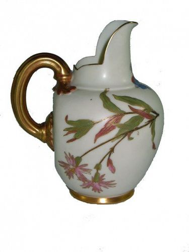 Royal Worcester Porcelain Pitcher