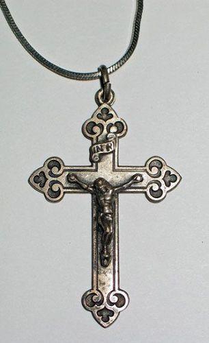Silver Crucifix Pendant