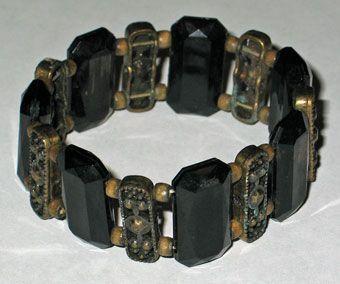 Victorian Jet Bracelet