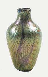 Art Glass Vase (Quezal)