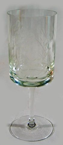 Flint Glass Water Goblet