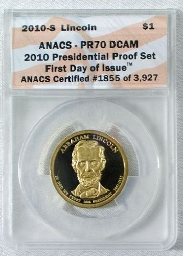 2010 Presidential Proof Set 2010 S