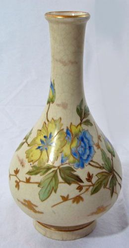 Carlsbad Porcelain Bottle Vase