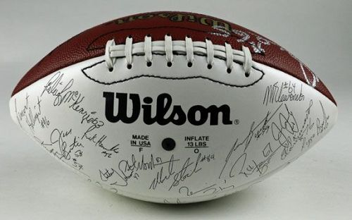 Dave Butz Autographed Football