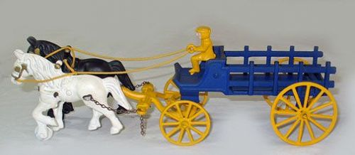 Kenton Horse Drawn Stake Wagon