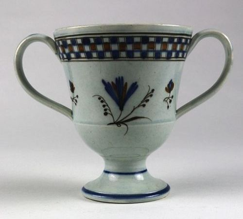 Pearlware Loving Cup, 18th C.