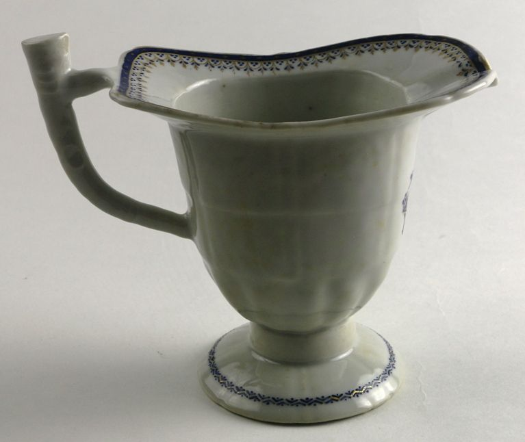 Chinese Export Porcelain Helmet Pitcher, 18th C