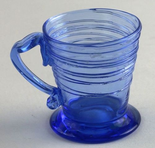 Steuben Glass Reeded Punch Cup