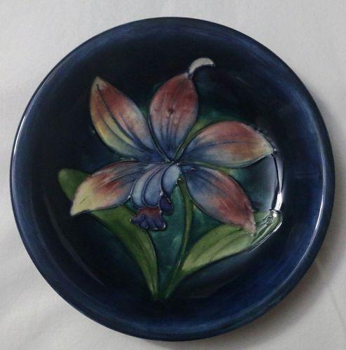 Moorcroft Floral Dish, c. 1935