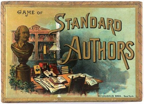 McLoughlin Bros Game of Standard Authors, c. 1894