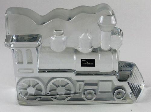 Daum Crystal Far West Train Engine