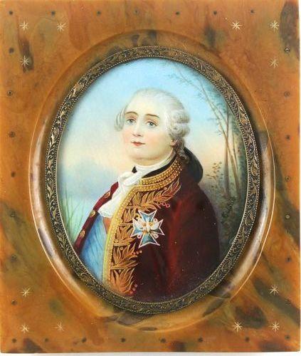 Miniature Portrait of Louis XVI