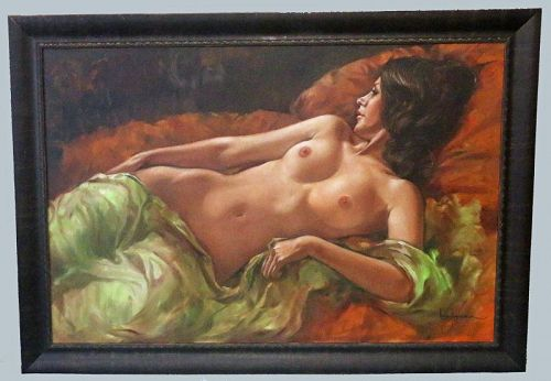 Untitled Oil on Canvas by Leo Jansen