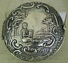 """Dutch """"833"""" Silver Change Purse, c. 1890"""