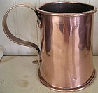 English Copper Mug, c. 1800
