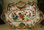 Coalport Porcelain Serving Plate, c. 1805-1810
