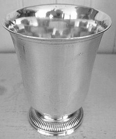 French Silver Footed Cup, c. 1784-89