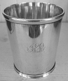 Early Maryland Sterling Julep Cup, c. 1830, Kirk