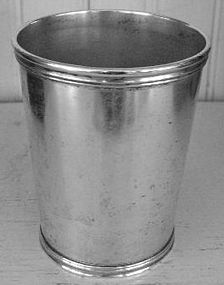 Early Louisville Kentucky Silver Julep Cup, c. 1844