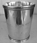 Early Cincinnati, Ohio Silver Julep Cup, c. 1829-35