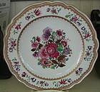 French Porcelain Plate, Samson, c. 1870-80