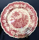 Early Staffordshire American Historical Plate, c. 1830