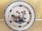English Liverpool Delft Plate, c. 1800