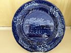 American Historical Staffordshire Blue & White Plate, c. 1810