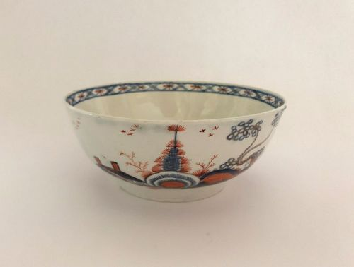 English Philip Christian's Liverpool Porcelain Bowl, c. 1765-75