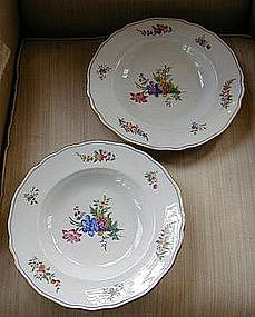 Pair of Chamberlain's Worcester Soup Bowls, c. 1847