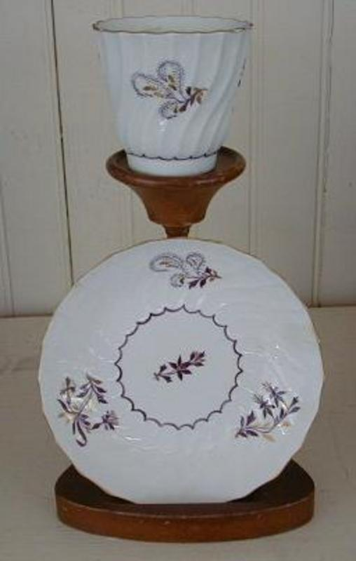 Worcester Barr, Flight, Barr Tea Cup & Saucer, c. 1785