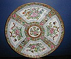 Chinese Export Porcelain Plate, c. 1830